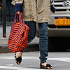 Sienna Miller Wearing Leopard Loafers | Pictures
