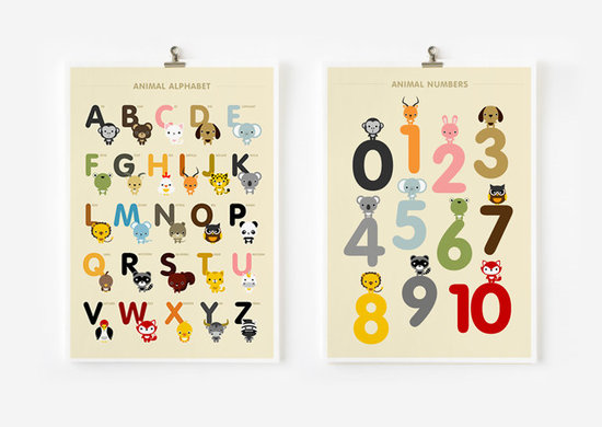 ABCs and 123s Prints
