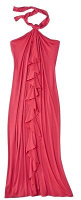 Mossimo® Womens Plus-Size Halter Maxi Dress - Assorted Colors