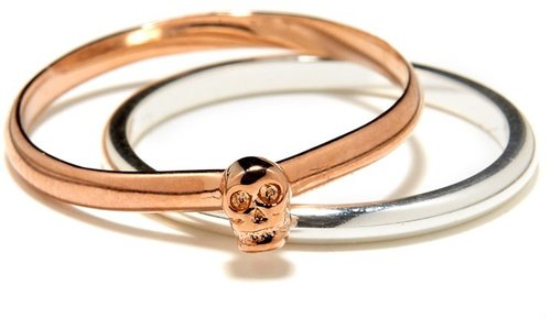 Bing Bang Skull Ring Duo
