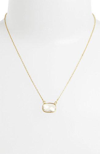 Argento Vivo 'Bauble Bar' Stone Pendant Necklace (Nordstrom Exclusive)