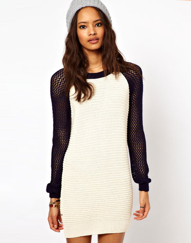 ASOS Varsity Sweater Dress