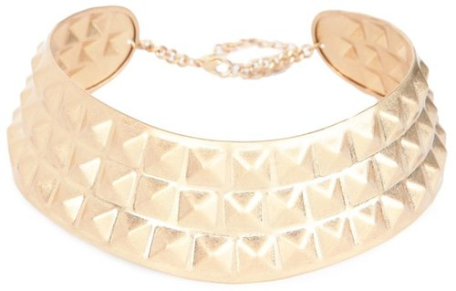 Gold Spike Choker