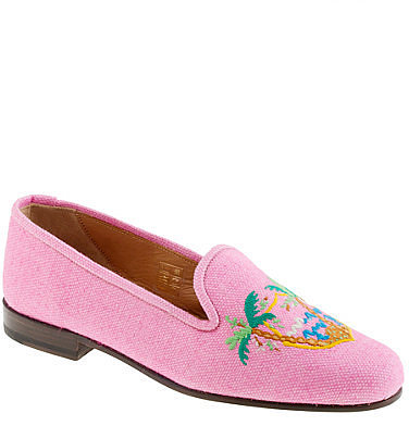 Stubbs & Wootton® for J.Crew classic linen slippers