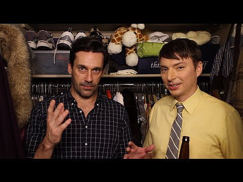 Jon Hamm Spends Seven Minutes in Heaven