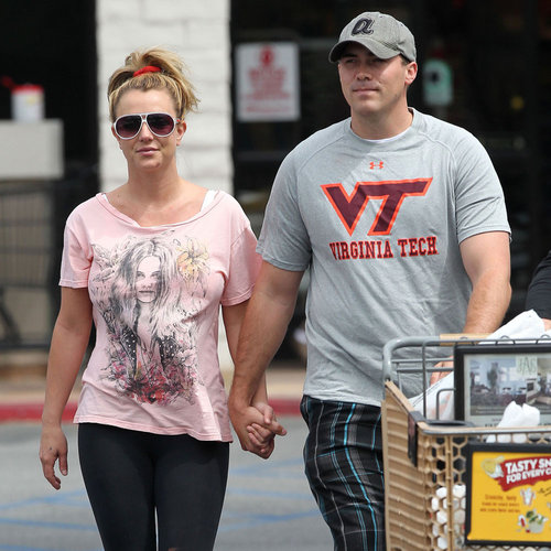 Britney Spears Holds Hands With New Boyfriend