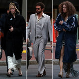 Amy Adams Goes Retro With Jennifer Lawrence and Bradley Cooper On Set