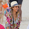 Jessica Alba and Cash Warren in St. Barts | Photos