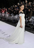 Olga Kurylenko stunned in Marchesa.