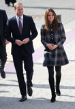 Will and Kate Get Sporty During Their Royal Visit to Glasgow