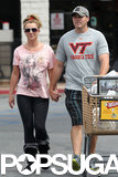 Britney Spears Shows PDA With Her New Guy