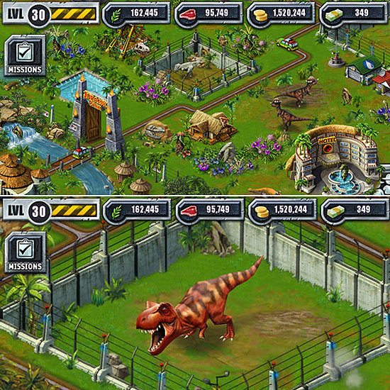 play jurassic park the game online