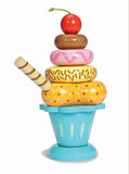 Le Toy Van Ice Cream Sundae Stacking Set