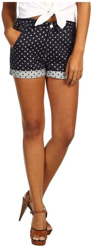 G-Star - CL Dot High Waisted Short (Polka Dot Denim) - Apparel