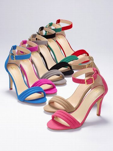 VS Collection Mid-heel Sandal