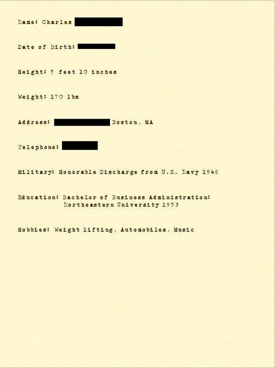 1950s resume popsugar smart living