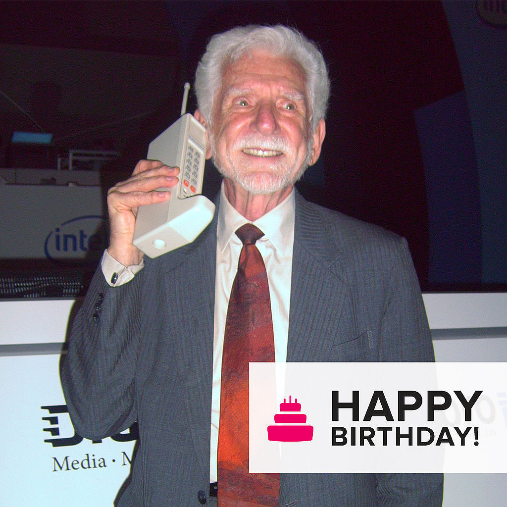 The Cell Phone Turns 40