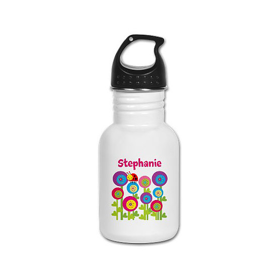 Ladybug Garden Kid's Water Bottle