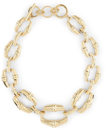 Signature Chunky Bamboo Embossed Necklace