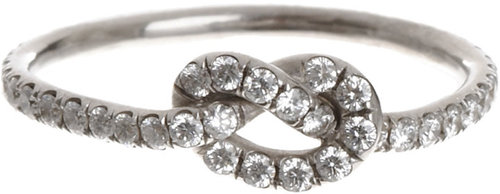 Finn Diamond Love Knot Ring