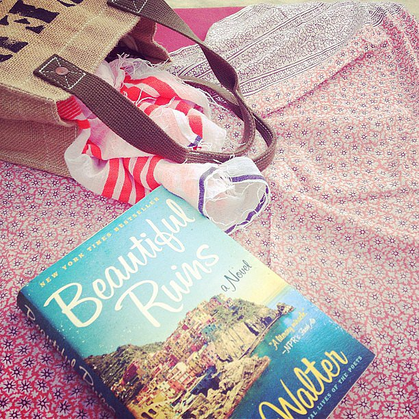 Tracy_a_garay shared her beach read Beautiful Ruins.