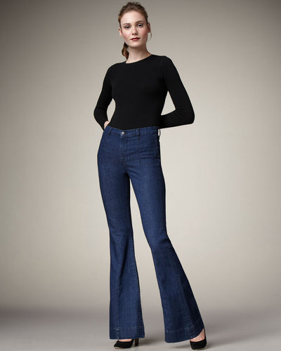 J Brand Jeans Loni Waterloo High-Rise Flared Jeans