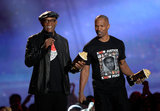 Django Unchained stars Samuel L. Jackson and Jamie Foxx took home the award for Best WTF Moment.