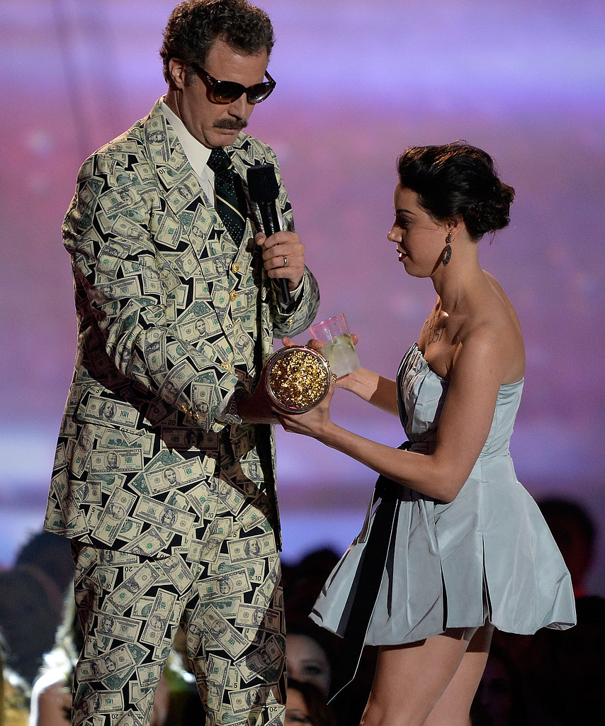 Will Ferrell gladly took home the Comedic Genius Award.