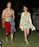 Jessica Lowndes and her boyfriend, Thom Evans, hung out.