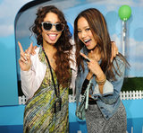 Jamie Chung and Vanessa Hudgens struck a pose.