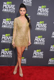 Selena Gomez arrived at the MTV Movie Awards in LA.