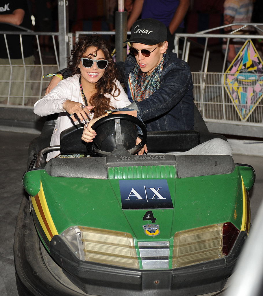Austin Butler and Vanessa Hudgens took a spin.