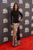 Zoe Saldana at the MTV Movie Awards.