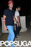 Brody Jenner wore his bright blue pants.