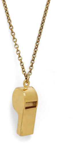 Ornamental Things Whistle While You're Workin' Necklace
