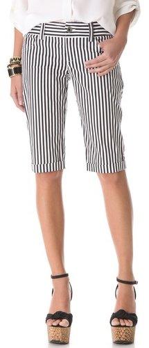 Alice + olivia 5 Pocket Long Shorts