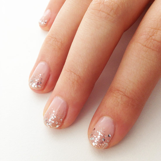 The Appealing Short gold pink nail designs Photo