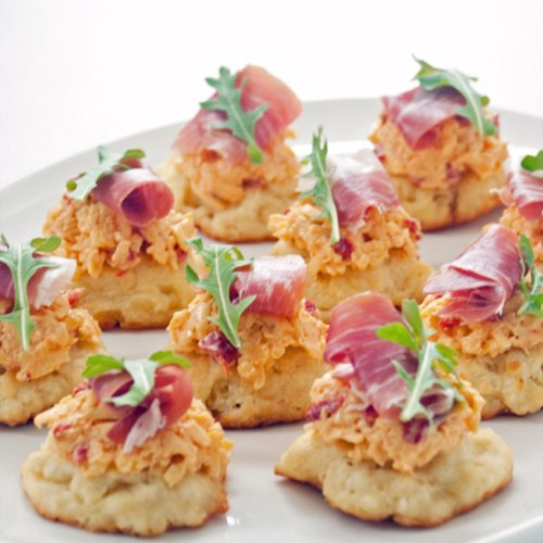 Pimento Cheese and Prosciutto Appetizer
