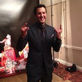 ACM host Luke Bryan celebrated backstage. Source: Instagram user peoplemag