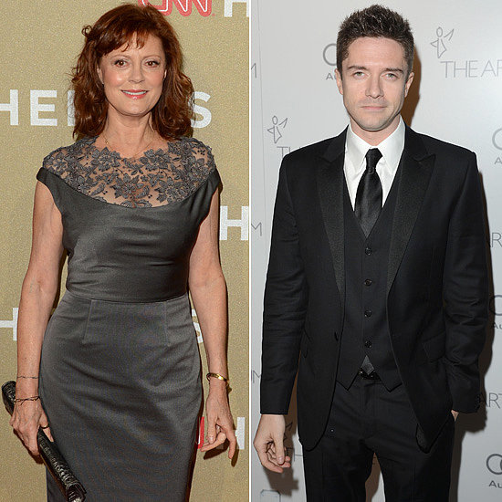 Susan Sarandon and Topher Grace joined The Calling, an indie thriller about a serial killer. Gil Bellows and Donald Sutherland are also on board.