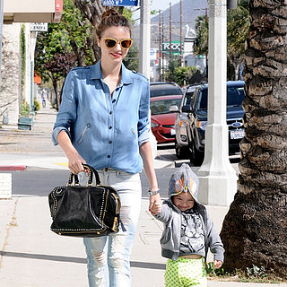Miranda Kerr Out in Hollywood With Son Flynn Bloom
