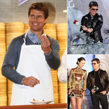 Tom Cruise Takes a Cooking Class and Premieres Oblivion in Taiwan