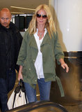 Gwyneth Paltrow arrived at LAX airport.
