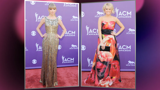 Taylor Swift and Carrie Underwood Are Best Dressed at the ACM Awards!