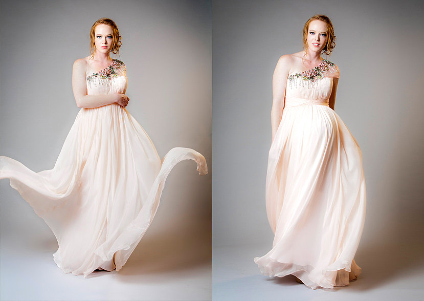 Maternity Bride Marie Dress