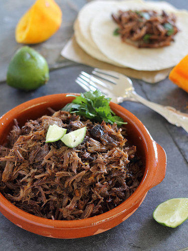 Spicy Orange Beef Carnitas