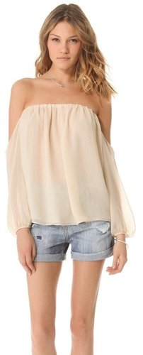 Tbags los angeles Off the Shoulder Blouse