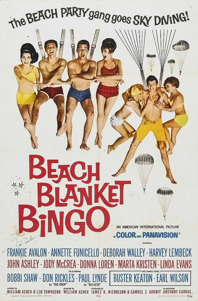 Beach Blanket Bingo, 1965