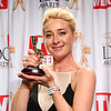 Asher Keddie Wins 2013 Gold Logie Award