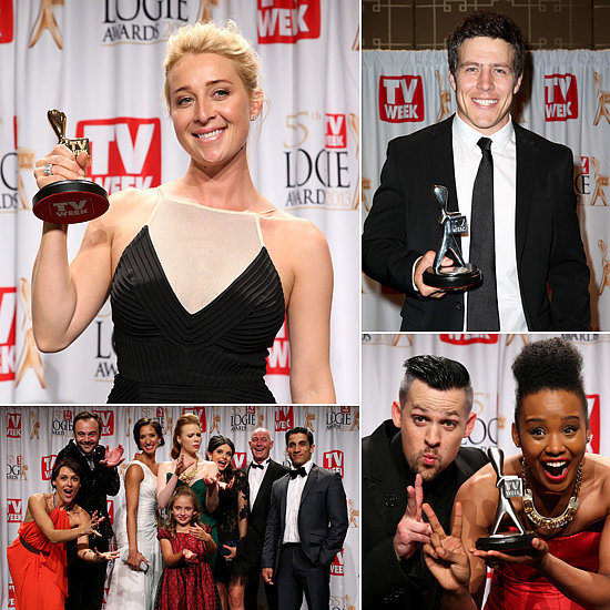 Asher, Hamish, Steve and More Celebrate Success at 2013 Logies